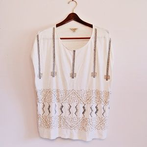 Lucky Brand beaded top